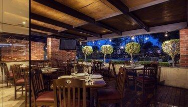 Terrasse bar Hôtel Urban Aeropuerto Ciudad de México Ciudad de México