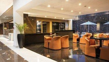Lobby bar Hôtel Urban Aeropuerto Ciudad de México Ciudad de México