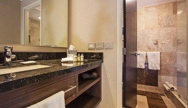 Salle de bains chambre standard Hôtel Urban Aeropuerto Ciudad de México Ciudad de México