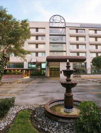 Façade Hôtel Urban Aeropuerto Ciudad de México Ciudad de México